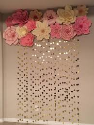 Image Result For Paper Flower Backdrop