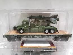 100 Menards Truck Rental O Gauge Military ARMY Flatcars Truck W Gun Truck W