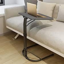 niceme klappbar laptop beistelltisch höhenverstellbar neigungsverstellbar tisch leicht und tragbar für bett sofa outdoor color
