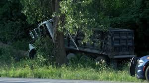 100 Dump Truck Crash Truck Crash Causes Traffic Issues On 104