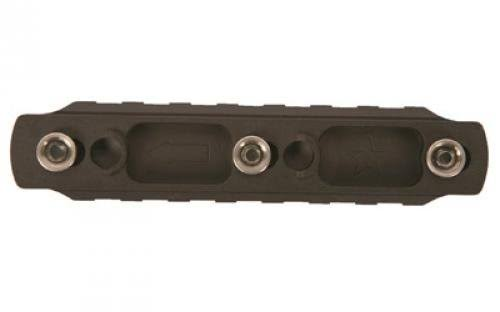 Bravo Company BCM Keymod Aluminum Picatinny Rail Section - Black, 4""