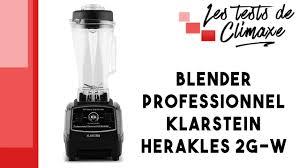 qu est ce qu un blender en cuisine test d un blender professionnel klarstein herakles 2g b sans bpa