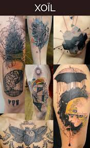 French Tattoo Artist Loic Lavenu Also Known By The Nickname Xoil Has A Very