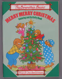 Berenstain Bears Christmas Tree 1980 by 30 Best The Berenstain Bears Coloring Books Images On Pinterest