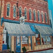 Creemore Ontario Kanada Stevemcdonald Fantasticcities Artwork Coloring BooksAdult