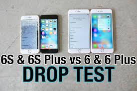 iPhone 6S VS iPhone 6S Plus Drop Test VS iPhone 6 & iPhone 6 Plus