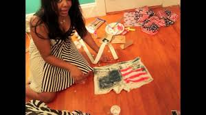 how to make flag shorts perfect for the 4th of july weekend