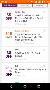 Coupons For Home Depot For Android - APK Download Home Depot Coupons Promo Codes For August 2019 Up To 100 Off 11 Benefits Of Pro Xtra Hammerzen Aldo Coupon Codes Feb 2018 Presentation Assistant Online Coupon Code Facebook Office Depot Online August Shopping Secrets That Can Help You Save Money Swagbucks Review Love Laugh Gift Lowes How To Use And For Lowescom Blog Canada Discount Orlando Apple 20 200 Printable Delivered Instantly Your The Credit Cards Reviewed Worth It