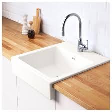 domsjö onset sink 1 bowl white 62x66 cm sinks bowls and kitchens