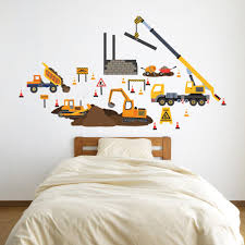 Construction Site Truck And Vehicle Wall Decals, Eco-Friendly Wall Sti Cars Wall Decals Best Vinyl Decal Monster Truck Garage Decor Cstruction For Boys Fire Truck Wall Decal Department Art Custom Sticker Dump Xxl Nursery Kids Rooms Boy Room Fire Xl Trucks Stickers Elitflat Plane Car Etsy Murals Theme Ideas Racing Art