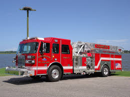 100 Blue Fire Trucks Colington Volunteer Department Receives New Apparatus