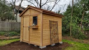 8x8 Storage Shed Kits by Outdoor Living Today 8x8 Gardeners Shed G88 On Sale Now