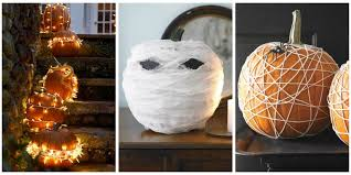 Cute Halloween Carved Pumpkins by 25 Best No Carve Pumpkin Decorating Ideas Fun Designs For No