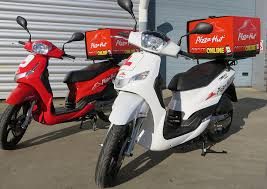 Delivery Scooters Mopeds Peugeot Motorcycles Pizza