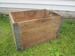 Old Shipping Crate Rustic Heavy Steel