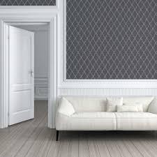 tapete michalsky living 3d ornament grau schwarz