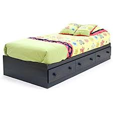 amazon com summer breeze collection twin bed with storage