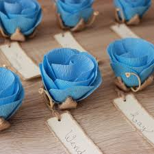 Rustic Wedding Dinner Place Card Holders With Handwritten Name Cards