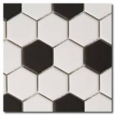 3x3 Blue Ceramic Tile by Beltile Hexagon Porcelain Mosaic Tiles Tile And Stone Including