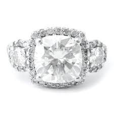 Custom Made Engagement Ring Antique Style Cushion Cut Center Stone