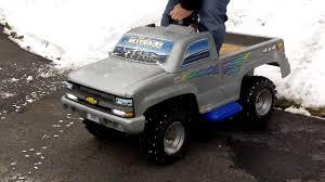 100 Power Wheels Chevy Truck 110cc Silverado YouTube