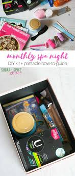How To Make A Monthly Spa Night Kit