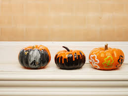 Ways To Make A Pumpkin Last Longer by How To Paint A Pumpkin 10 Steps With Pictures Wikihow