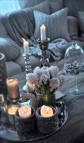 dekoration wohnzimmer selber machen mit lavendel und spitze
