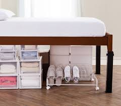 Ultimate Height Bed Risers Carbon Steel Black ¢€‹