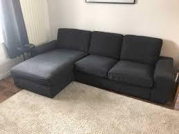 Ikea Kivik Two Seat Sofa And Chaise Longue