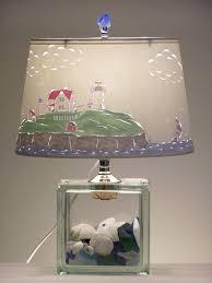 Fillable Glass Lamp Kit by Nubble Lighthouse Lamp Lighthouse Cape Neddick Nubble