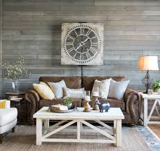 Living Room Rustic Rooms Farmhouse Sofa Table Nice