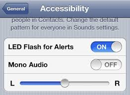 How to turn off flashlight on iPhone when ringing IPHONE 6 5S