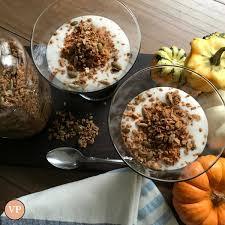 Pumpkin Pie Mousse Parfait by Pumpkin Pie Parfait U2014 Valerie Piccitto Nutritionist
