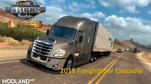 Freightliner Cascadia 2018 V1.0 Edited [1.32.x] Mod For American ...