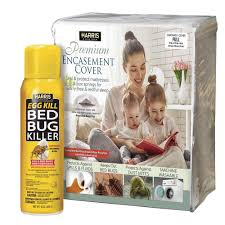 Harris Full Bed Bug Mattress Cover and Bed Bug Spray Value Pack