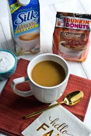Dunkin Donuts Pumpkin Latte Gluten Free by Making It Milk Free Coffee Creamer Combos Caramel Coffee Cake