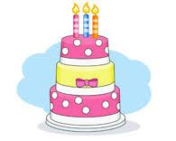 three layered birthday cake with candles three layered birthday cake with candles Size 66 Kb From Birthday