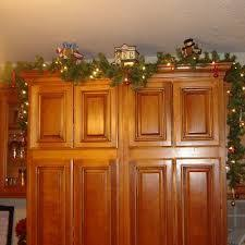 Above Kitchen Cabinet Christmas Decor by 32 Best Christmas Kitchens Images On Pinterest Christmas Kitchen