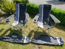 100 Folding Chair With Carrying Case Beautiful Pair Of Vango Del Mar Folding Chairs With Carry Cases In