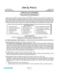 Entry Level Staff Accountant Resume Examples Accounting Sample By Jane Q Public Tips