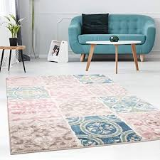 carpet city teppich läufer flachflor patchwork modern