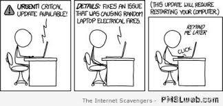 32 Computer Update Cartoon Humor