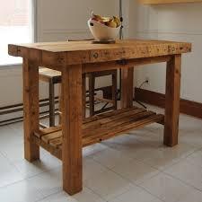 table en bois de cuisine ilots de cuisine en bois cuisine en image