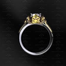 sapphire studios master sword diamond white yellow rose gold