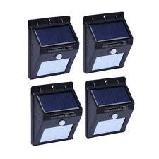 motion activated solar outdoor wall porch lights ebay