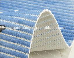 printed foam anti slip roll mat vinyl no suction cup bath mat
