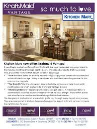 Merillat Cabinets Classic Line by Kraftmaid Vantage New Cabinetry Line Kitchen Mart