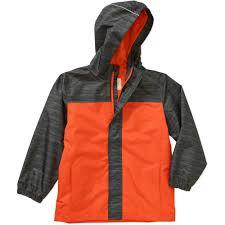 faded glory boys u0027 rain jacket walmart com