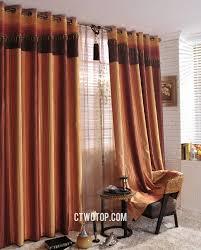 burnt orange kitchen walls orange sheer curtains walmart kitchens